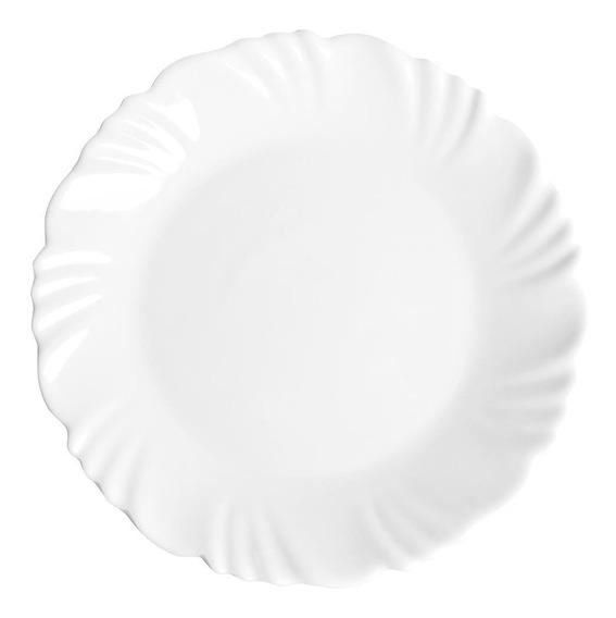 Conjunto De Pratos Opaline Pétala Sobremesa 24 Peças Duralex