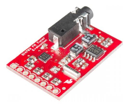 Sintonizador De Fm Si4703 Arduino