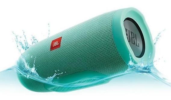 Speaker Jbl Charge 3 Bluetooth Ipx7 Bivolt 2 X 10w Rms - Ver