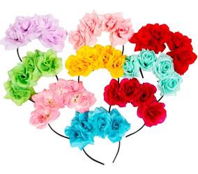 Vinchas Coronas Flores Cotillón - Fiestas Casamientos