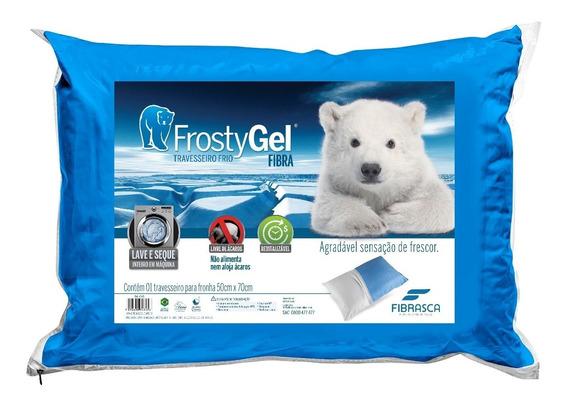 Travesseiro Frostygel Visco - Fibrasca
