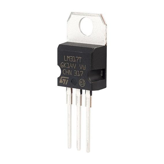 5 X Cicuito Integrado Regulador De Tensão Lm317 Lm317t 5 Pcs