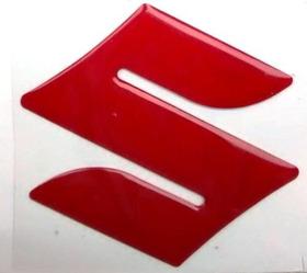 Adesivo Emblema S Suzuki Tanque Bandit Srad Bking Vermelho