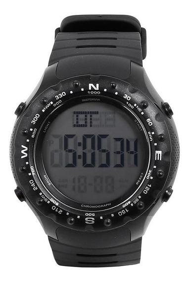 Relógio Pulso Digital Pretorian Borracha Redondo Esportivo