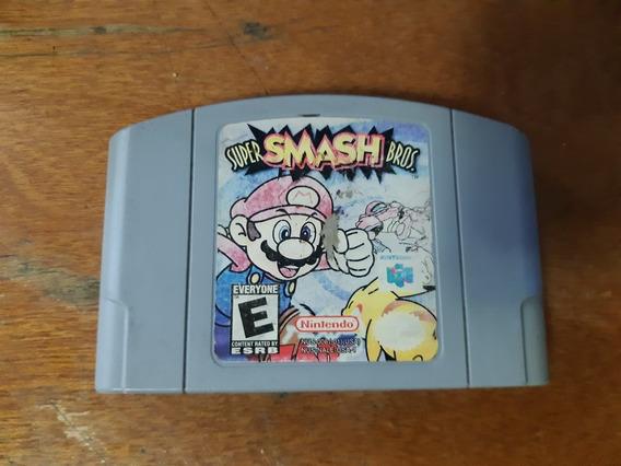 Super Smash Bros N64 Original Americano Salvando