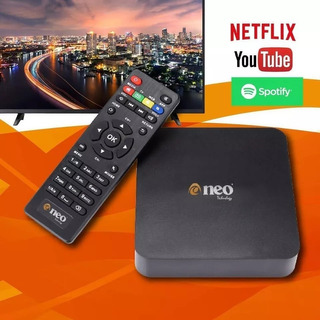 Smart Tv Box Neo Android 7.1/qc/1gb/8gb 4k