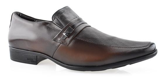 Sapato Social Jota Pê Air Bag Couro Numeração Especial 13140