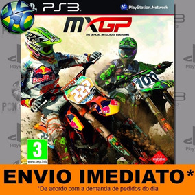 Jogo Ps3 Mxgp The Official Motocross Videogame Psn Play 3