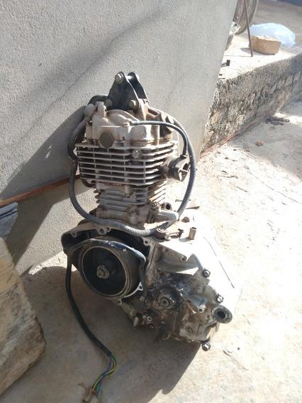 Motor Intruder 125cc Para Retirar Peças