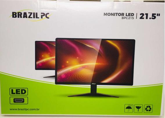 Monitor Led 21.5 Brazilpc 22bpc-nkan Preto Widescreen Fullhd