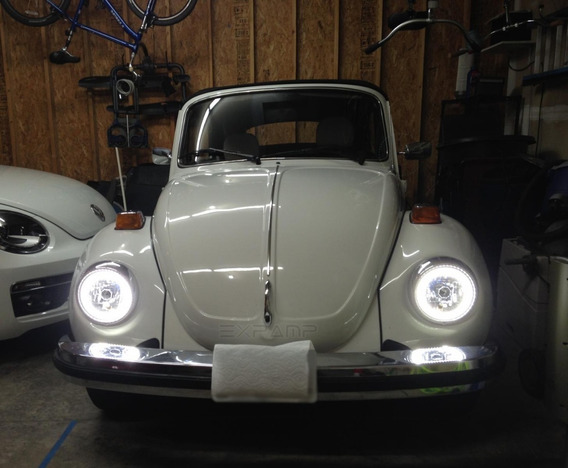 Angel Eyes Led Drl P/ Fusca