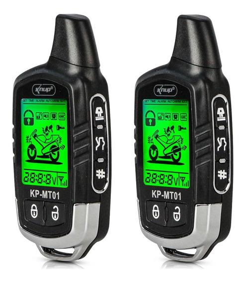 Alarme Para Moto Mt01 Liga Partida Aviso No Visor 3,5 Km