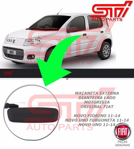 Imagem 1 de 4 de Maçaneta Dianteiro Motorista Uno Evo Vivace Way Original Nf