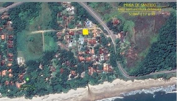 Praia De Santiago - Lotes 510 M² Com Escritura Definitiva - Te0260