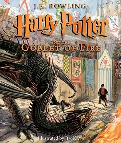 Harry Potter And The Goblet Of Fire - Illustrated Edition -
