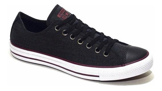 Converse Lino Negro 157076c Linen Black Modas Nuevas
