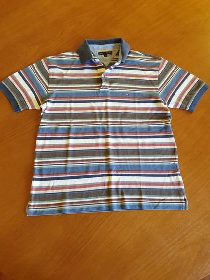 Camiseta Tommy Hilfiger Masculina Tam G Brasil .obc Store