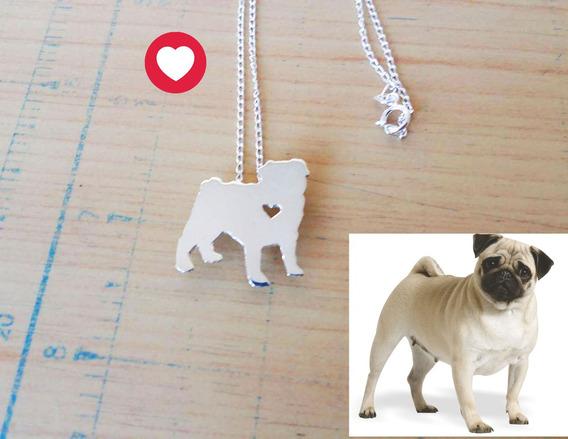 Dije De Perro En Plata Mascota Con Grabado Al Reverso Gratis