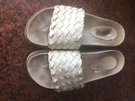 Sandalias Blancas Talle 38 Usadas. Super Comodas