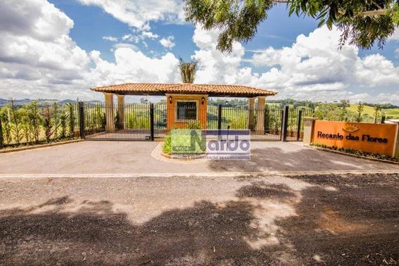 Terreno À Venda Em Pinhalzinho Sp, Condomínio Residencial Recanto Das Flores - Te0081