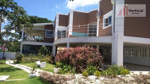 Casa Com 5 Dormitórios À Venda, 600 M² Por R$ 2.400.000,00 - Pinheirinho - Vinhedo/sp - Ca0458