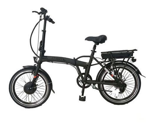 Bicicleta Elétrica Dobrável Atrio Bi182 Aro 20 Preta