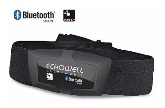 Sensor Cinta Monitor Cardiaco Dmh30 Echowell Bluetooth Ant+