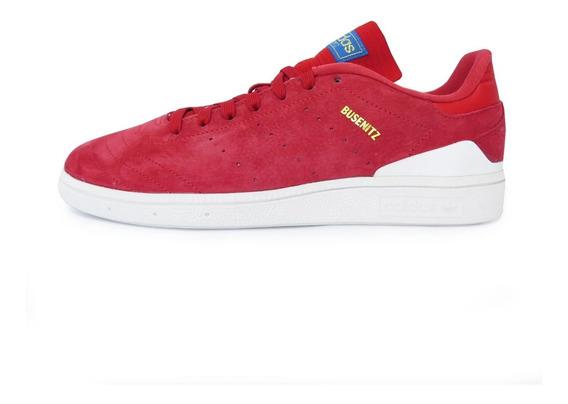Tênis adidas Busenitz Rx Skateboard Vermelho - Promoção