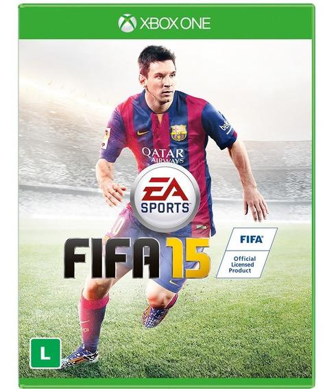 Jogo Xbox One Fifa 15 Original Usado Mídia Física