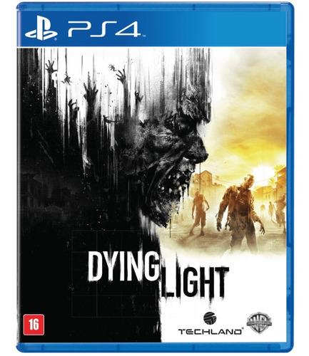 Jogo Dying Light Playstation 4 Ps4 Usado Game Mídia Física