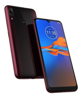 Smartphone Motoe6 Plus Rubi 32gb Dual Chip Tela 6.1 Motorola