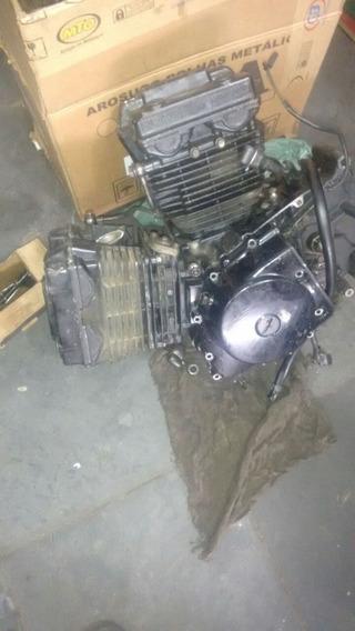 Motor Da Comet 250 Para Retirada De Peças