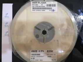 Resistor 820k Smd 0805 (rolo C/ 5000pçs)