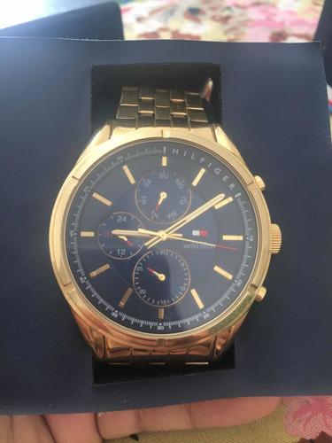 Relógio Tommy Hilfiger Masculino Dourado- 1791513
