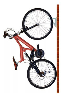 01 Suporte Para Bike / Bicicleta, Branco, Brasforma - Sb01