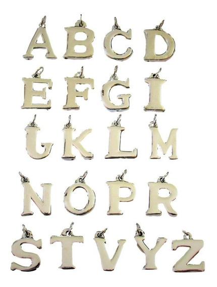 Dije Letra Inicial Plata 925 (di41)