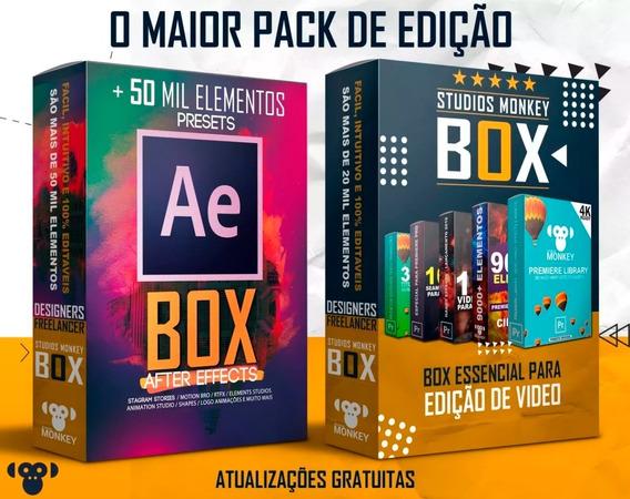 O Maior Pack De Presets Para Edição Premiere Pro E After Effects Promoção