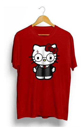 Camiseta Hello Kitty Harry Potter