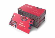 1.000 Cartões De Visita, Uv Total Frente, 4x4 Cor (simples)