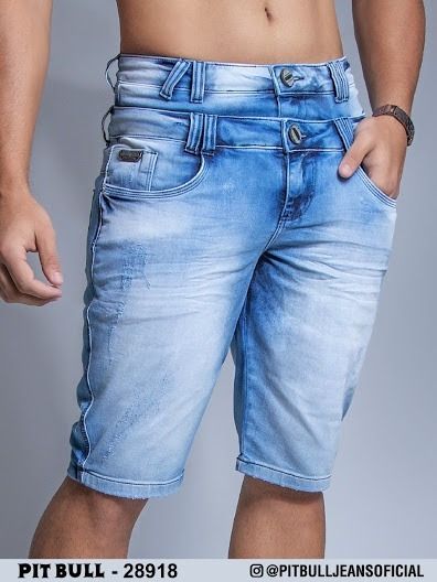 Promoção!!! Bermuda Jeans Masculina Pit Bull Original. Ref. 28918 (enc)