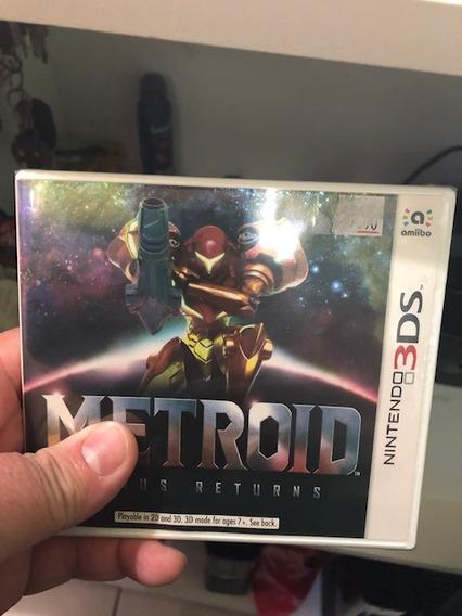 Metroid Samus Returns Nintendo 3ds Lacrado