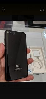Xiaomi Mi6 Cerámica Negro 128gb Rom 6ram. Excelente