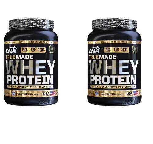 Proteina Whey Protein True Made X 1kg Ena Promo X 2 Combo