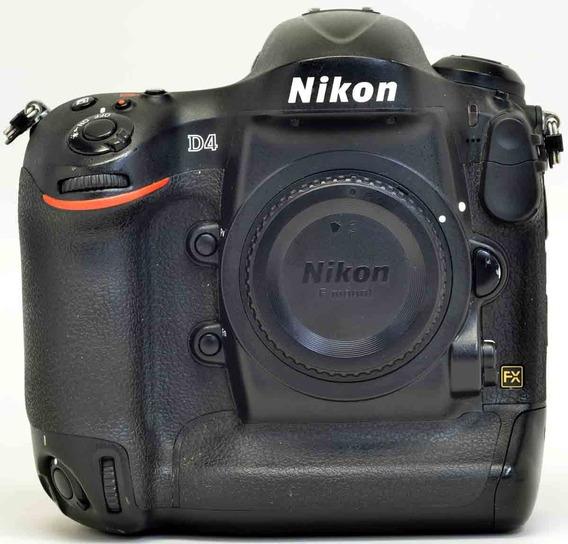 Nikon D4 Seminova, Com 41 Mil Disparos - Perfeita !! 2053666