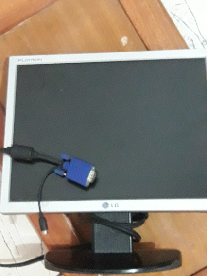 Monitor Lcd LG Flatron L1553s Funcionando S/fonte