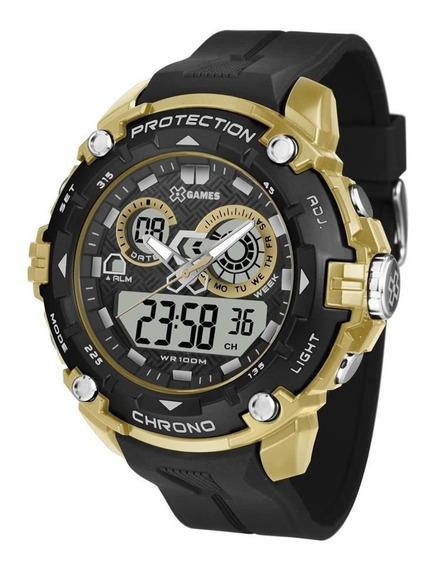 Relógio X-games Masculino Anadigi Xmppa275 Bxpx Vermelho