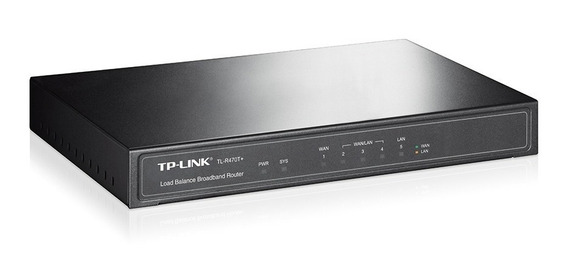 Router Balancea Carga Tp-link Mod. Tl R470t Ethernet Wanlan