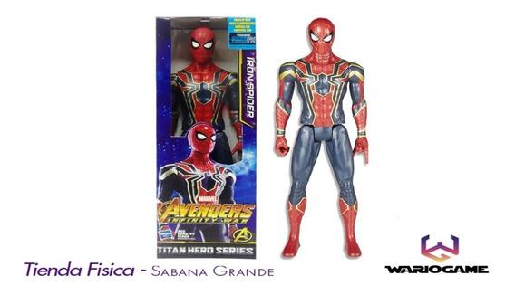 Muñeco Iron Spider Man Hasbro 30cm Infinity War Somos Tienda
