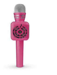 Micrófono Parlante Bluetooth Karaoke Distorsión Mick Gato
