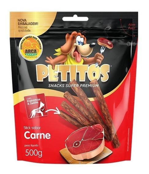 Palito De Carne 5kg Petitos Stick Frete Gratis (10pac 500g)